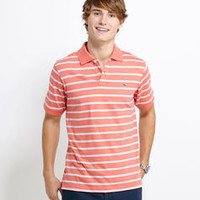 Shop Men's Polo Shirts: Sea Wall Stripe Slim-Fit Polo for Men - Vineyard Vines