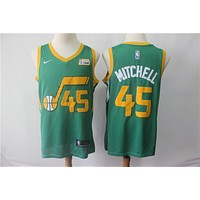Utah Jazz Donovan Mitchell 2018/19 Swingman Jersey – Earned Edition