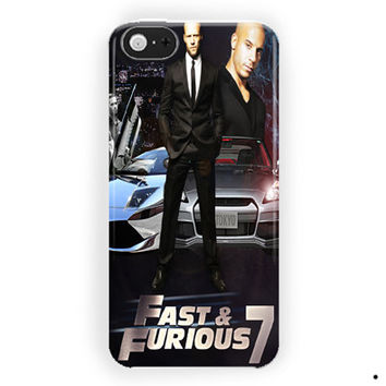 The Furious 7 For iPhone 5 / 5S / 5C Case