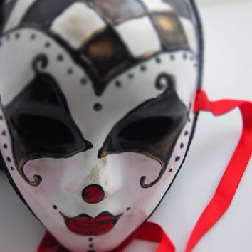 Tears of a Clown Mask for by effigymasks on Etsy