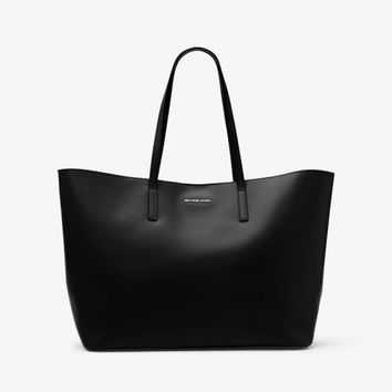 MICHAEL KORS EMRY EXTRA-LARGE LEATHER TOTE BAG