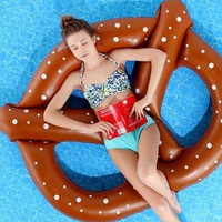 Twisted Pretzel Inflatable Pool Float