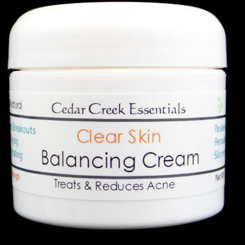 Clear Skin Balancing Cream - Acne Treatment - Moisturizer - Anti-Aging- Anti-Acne