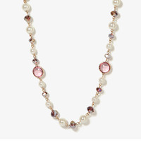 Scalloped Round Bead Necklace