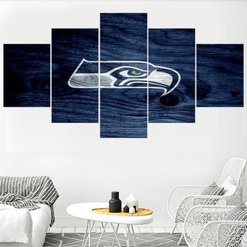 Canvas Paintings Seattle Seahawks Wall Picture Modern Home Decor Living Room Bedroom Wall Art Canvas Print Painting Calligraphy