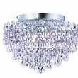 Agathe - Semi Flush Mount (4 Light Modern Semi Flush Mount Crystal Chandelier) - 1617F12