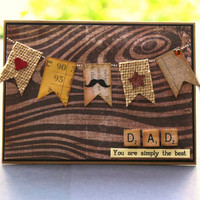 Father's Day Card - Brown