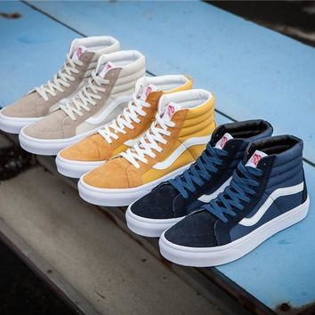 Vans Vault Og Sk-hi Lx High Skateboarding Shoes 36-44 - Beauty Ticks