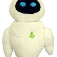 "Disney Pixar Wall-E 6"" Eve Plush"