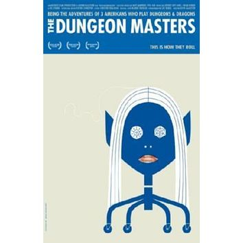 Dungeon Masters Movie poster Metal Sign Wall Art 8in x 12in