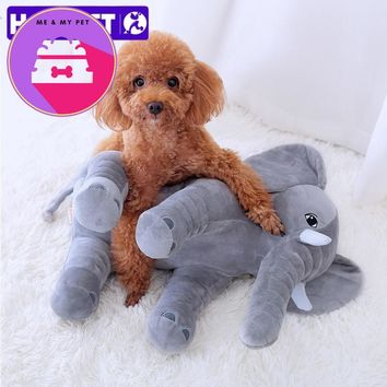 Plush Little  Elephant Pet Pillow