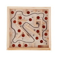 New Baby Toys kids Educational Toys Maze Intellectual Development Wooden Toys Children's Gifts