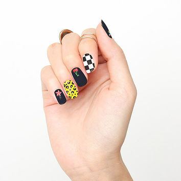 Hollywood Rockabilly  - Nail Wraps (Set of 22)