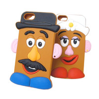 Potato Head Silicone iPhone Cases
