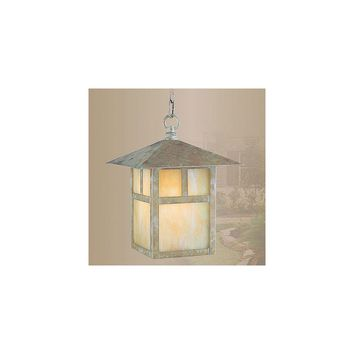 Livex Lighting Montclair Mission 1 Light Outdoor Hanging Lantern (Verde Patina)