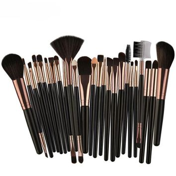 MAANGE 22/25pcs Cosmetic Makeup Brush Blusher Eye Shadow Brushes Set Kit brochas para maquillaje pinceis de maquiagem pinceaux