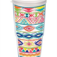 Aztec Pattern - Wrap with Lid | 24oz Tumbler | Tervis®