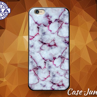 Marble Black White Gray Red Cute Tumblr Rock Texture Case iPhone 5/5s and 5c and iPhone 6 and 6+ and iPhone 6s and iPhone 6s Plus iPhone SE