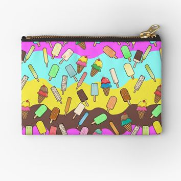 'Ice Cream Treats' Studio Pouch by Gravityx9