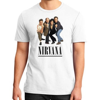 Nirvana Seinfeld District T-Shirt (on man)