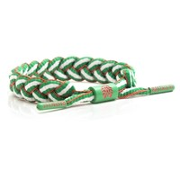 Rastaclat Mexico Green White Red Shoelace Bracelet