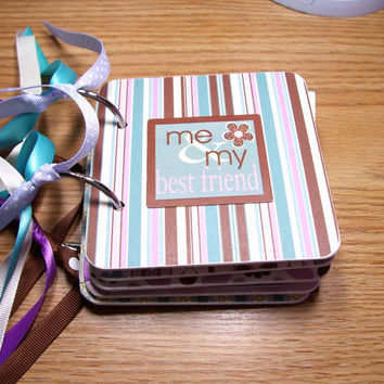 Me and My Best Friend Premade Mini Scrapbook Album