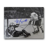 Autographed Don Marcotte 8-By-10 Inch Unframed Boston Bruins Photo