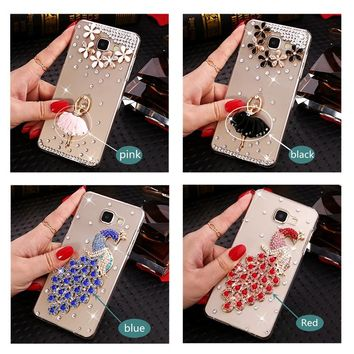 Luxury Crystal Case for Samsung Galaxy S-Series & Note-Series Smartphones