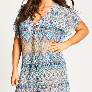 Shop Women's Plus Size Women's Plus Size Kaftan | City Chic USA
