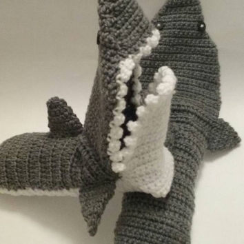 Shark Attack Slipper Socks for Adults-Free US Shipping