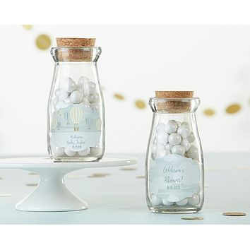Personalized Milk Jar - Gender Neutral Baby Shower (Set of 12)