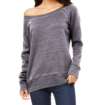 The Wide Neck Sweatshirt