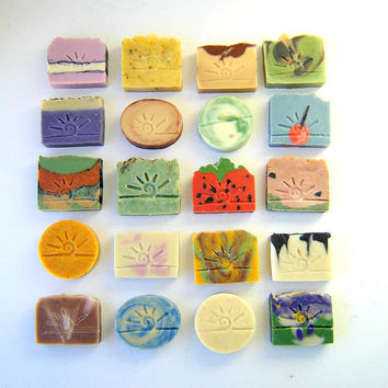$52.75 Handmade Cold Process Soap / 9 Bars YOU choose by SoapForYourSoul