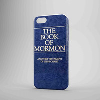The Book Of Mormon Book Cover iPhone Case Galaxy Case 3D Case