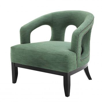Green Lounge Chair | Eichholtz Adam