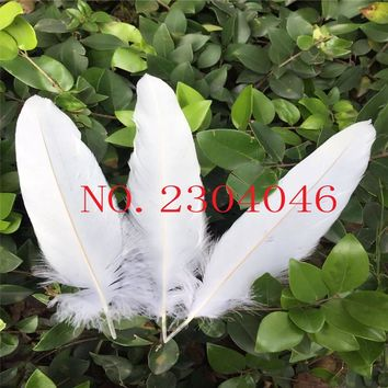 20 natural natural eagle hair bleaching 25-30CM (10-12 inches) feather decoration DIY accessories collection