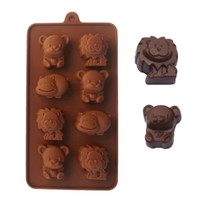 Silicone Animal Chocolate Mold