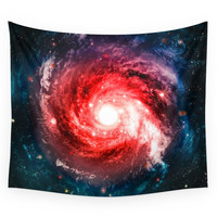 Society6 Spiral Galaxy Wall Tapestry