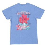 Azalea Festival Series Tee in Washed Blue by Southern Marsh - FINAL SALE