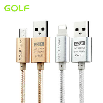 Original 1m 2m 3m Phone Charger Micro USB Cable For IPhone 5 5s 5C 6 6s Plus iPad 4 Air 2 Samsung S6