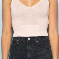 Luna Knit Tank - Tops - Clothing