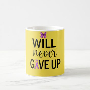 Will Never Give Up Fibromyalgia Coffee Mug