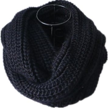 Winter Knitted LIC For Women Lovers Solid Scarf Warm Scarves For Women Black Men's Scarf Collar Unisex LIC Detksy Gray Dachshund