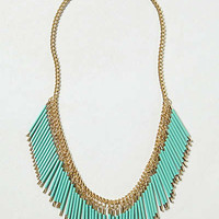 Anthropologie - Fringed Quills Necklace