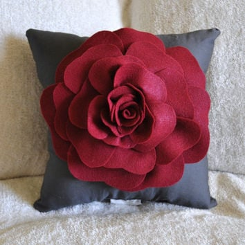 Charcoal Decorative Pillow