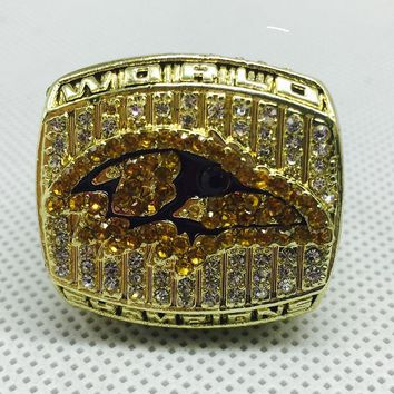 Fashion Fans Sport Jewelry 2000 Baltimore Ravens Championship Ring Custom Big Size 11
