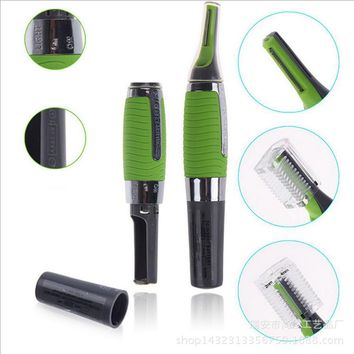 [FREE OFFER DETAILS BELOW!] New Personal Face Care Stainless Steel Nose Hair Trimmer Removable Clipper Shaver for Men