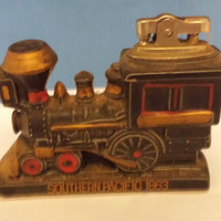 Amico Train Engine Lighter, Vintage Tobacianno, Train Collectible, Table Lighter