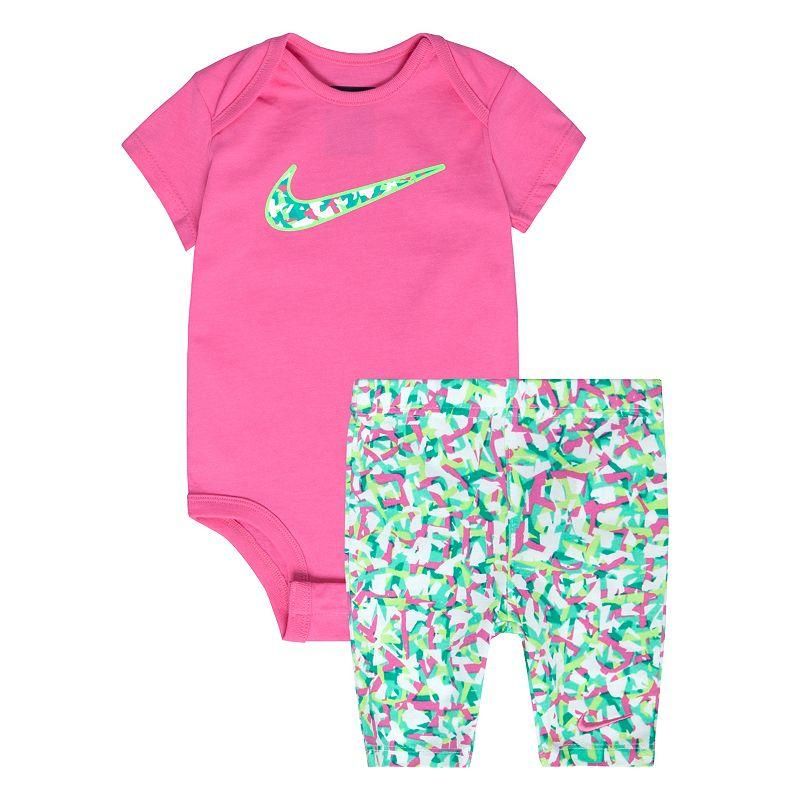Nike Confetti Bodysuit Capri Leggings Kohl Things