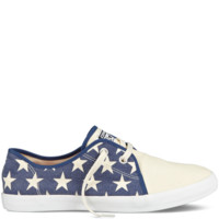 Converse - All Star Riff - Low - Parchment/Navy/Red